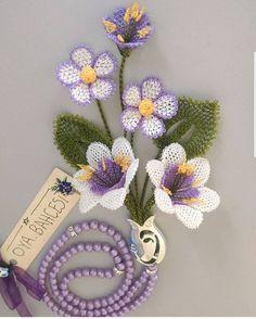 Diy Flowers, Crochet Flowers, Needle Lace, Clothing Patterns, Tatting, Elsa, Diy And Crafts, Crochet Earrings, Jewelry