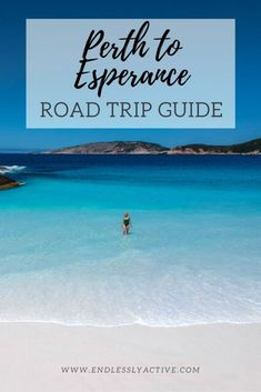 Western Australia Perth To Esperance Road Trip Guide. Complete guide to travel South Western Australia from Perth to Esperance. Australia Destinations, Australia Travel Guide, Travel Tours, Travel Ideas, Travel Destinations, Road Trip Adventure, Beaches In The World, Perth, That Way