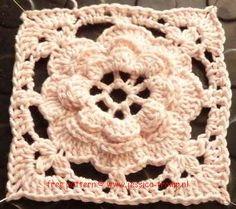 free crochet granny squares