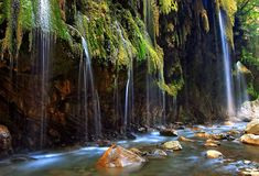 "Canyon of ""Panta vrexei"" in Karpenisi Beautiful World, Beautiful Places, Beautiful Scenery, Weird World, Greece Travel, Paradise, Greek, Landscape, Beach"