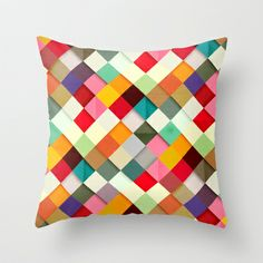 Pass this On Throw Pillow by Danny Ivan - $20.00