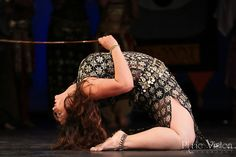 Isabella Salimpour Khoury (Jamila's granddaughter) performing a classic Bal Anat cane dance at A Tribute to Jamila Salimpour.