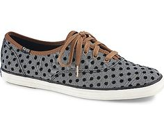 Champion Herringbone Dot, Black