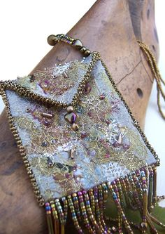 Amulet Bag / Necklace Gold by PasticheStudio on Etsy, $160.00  nice