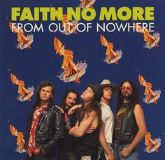 "For Sale - Faith No More From Out Of Nowhere UK  7"" vinyl single (7 inch record) - See this and 250,000 other rare & vintage vinyl records, singles, LPs & CDs at http://eil.com"