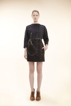 Alexandre Herchcovitch Pre-Fall 2012 Fashion Show - Fabiana Mayer