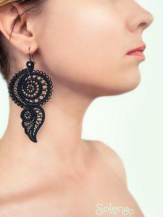 Tribal Earrings, Gothic earrings, bohemian earring, evening jewellery, vintage Jewelry #Solena #Earrings