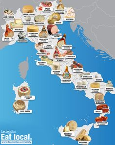 This Category celebrates the finest in quality Italian cuisine and Italian Wines. See our best selection of posts that dive into Italian food and wine! Food From Different Countries, Food Map, Italy Food, Italian Language, Learning Italian, In Vino Veritas, Italian Wine, Tasty Dishes, Wine Recipes
