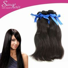 14 oz Sina Hair products 4pcs/lobBy Natural Straight 100% Virgin Human Hair Weave Indian hair extension 100g/pcs