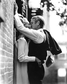 "Faye Dunaway & Steve McQueen in ""The Thomas Crown Affair"" (1968)"