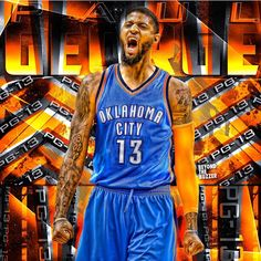 121 best paul george images on pinterest basketball netball and and its official gotta start practicing how do you guys say it thunder voltagebd Choice Image