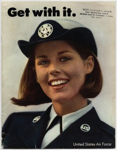 Get with it, 1968 - The Betty H. Carter Women Veterans Historical Project - UNCG