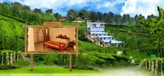 Wayanad Muthanickatt Villa is offering high quality and international standard accommodation and staying options for the travelers from various parts of the globe. Luxurious living rooms with sofas, LCD with International and National channels, spacious bed rooms with wardrobe, and beautiful scenic views of the mountains are some of the attractions to experience.