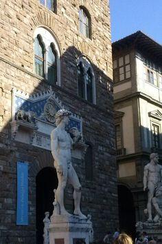 Copia del David, Piazza della Signoria, Firenze