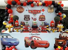Cars birthday parties Brown Things brown color discharge after period 2nd Birthday Party For Boys, Cars Birthday Parties, Birthday Party Decorations, Festa Hot Wheels, Hot Wheels Party, Disney Cars Party, Disney Cars Birthday, Car Birthday, Car Themed Parties