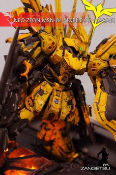 GUNDAM GUY: Neo Zeon MSN-04 Sazabi Ver. Zangetsu - GBWC 2015 Philippines Entry Build