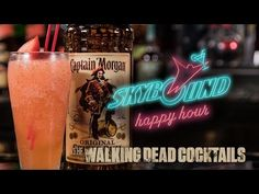 How-to Make The Walking Dead's Kingdom Cocktail with LeeAnna Vamp! - http://2lazy4cook.com/how-to-make-the-walking-deads-kingdom-cocktail-with-leeanna-vamp/