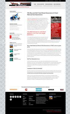 website design for V