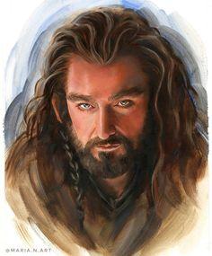 #art #arts #paint #painting #drawing #artwork #illustration #sketch #dailyart #instaart #artoftheday #рисуюкаждыйдень #портретназаказ #sketch #скетч #oil #oilpainting #traditionalart #realismart #oiloncanvas #oilpaints #oilpaintings #oilpaint #traditionalart #artoftheday #thehobbit #хоббит #Thorin Oil Portrait, Digital Portrait, Pencil Portrait, Instagram Artist, Mother Of Dragons, Tolkien, The Hobbit, Digital Illustration, Photo Art