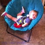 Apparently, papasan chairs are not very comfortable.