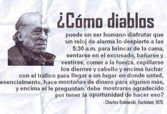 El Tiempo Ganado: Carta a Charles Bukowski