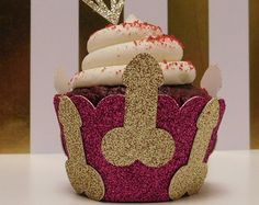 Penis picks Penis Decorations Bachelorette Party Bridal Shower Dick Confetti Adult Party Decor Glitter,cupcake toppers