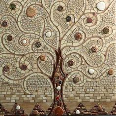 Tree of Life Mosaic ~ by Kicosaic