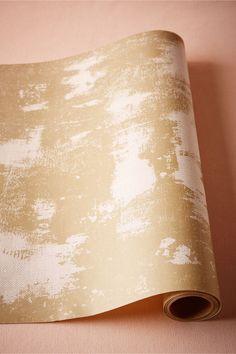 BHLDN Gold Imprint Table Runner in  Décor View All Décor at BHLDN