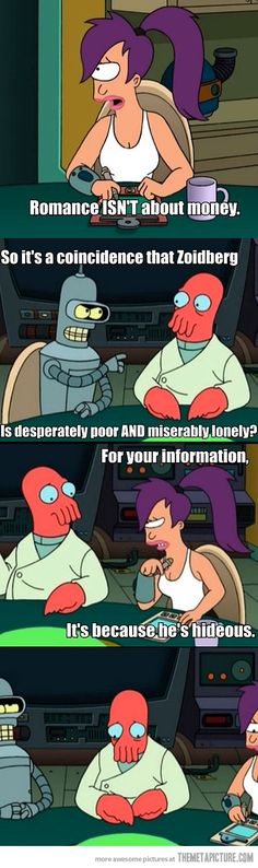 "Forever Alone Level: Zoidberg -- ""I'm seeing a movie with friends!""  <3 Zoidberg"