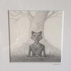 Mr Fantastic from Fantastic Mr Fox. Art by Charles Santoso #charlessantoso
