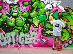 Brus & Phiesta – The Hulk Wall