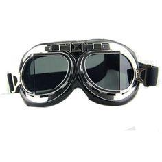 c521abf7ffa Steampunk Gothic Scooter Helmet Goggles Glasses