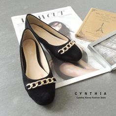 Chain-Accent Flats from #YesStyle <3 CYNTHIA YesStyle.com