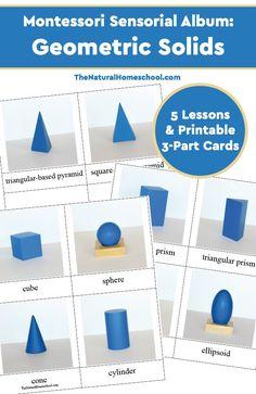 Montessori Sensorial Album: Geometric Solids