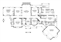 House plans with in law suites on pinterest house plans for Thehousedesigners com home plans