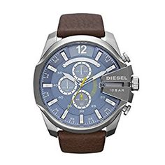 Diesel Men Wrist Watch on YOOX. The best online selection of Wrist Watches Diesel. YOOX exclusive items of Italian and international designers - Secure payments Cool Watches, Watches For Men, Wrist Watches, Men's Watches, Analog Watches, Latest Watches, Watches Online, Bracelets Bleus, Diesel Watch