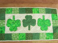 Night Owl Crafting: St. Patrick's Day decor revisited and link party!