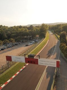 """The Enzo e Dino Ferrari Racetrack in Imola - """"Five reasons to visit Emilia-Romagna: 5.The Great Outdoors"""" by @keaneiscool"""