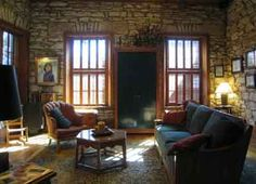 Office of therapist Carol Meyer -Willingham, Salado,TX office interior