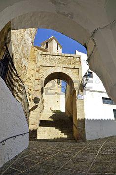 Calle en Iznajar, Córdoba  Spain