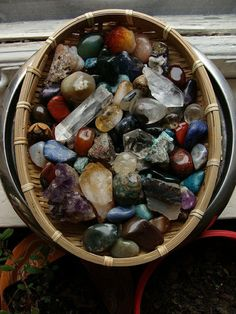 Stones and Crystals..nice picture