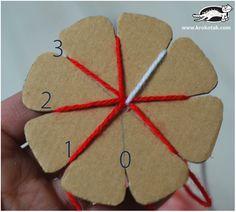 Πώς να φτιάξουμε υπέροχα βραχιολάκι για το Μάρτη με την τεχνική kumihimo!