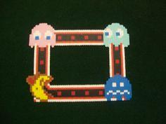 PacMan Perler Frame by yumeleona23