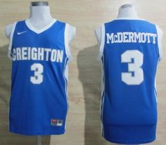Doug McDermott 3 College Basketball Jersey  Player Name, Number & Team Graphics are sewn.  Adult Size S (44) M (48) L (50) XL (52) XXL (54) XXXL (56)