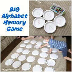 BIG Alphabet Memory Game - Learning Game for Preschoolers