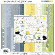2015.04 Duo printanier Ciel gris et soleil