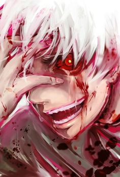 Kaneki Ken from Tokyo Ghoul. Seriously, this character is so sad :( All he wanted was to go on a date with a girl, but then he gets dragged into the world of ghouls....poor kaneki :( (SYL)