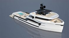 Yacht Design, Boat Design, Explorer Yacht, Super Yachts, Wooden Boats, Exterior Design, Sailing, Green, Ships