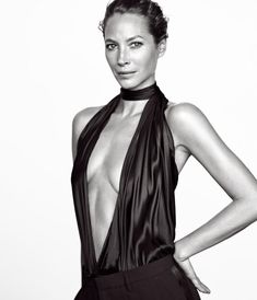 Christy Turlington By Mikael Jansson For WSJ Magazine March 2016 Fashion Editor: George Cortina Hair: Shay Ashual Makeup: Hannah Murray