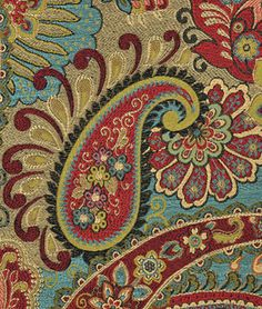 Swavelle / Mill Creek Mix It Up Carnival Fabric : Image 2 Going to use to upholster the queen size headboard
